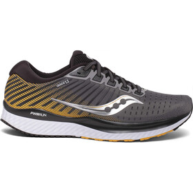 saucony Guide 13 Schuhe Herren grey/yellow